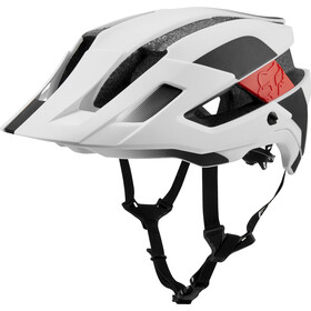 Fox Flux Mips Conduit Trail Helmet Herren white/black
